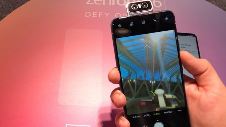 ZenFone 6, noul telefon high-end, vine cu design premium de la Asus (VIDEO)