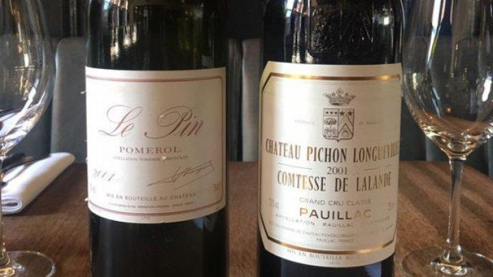 Un client a băut, din greșeală, un vin de 4.500 de lire sterline. Cum a fost posibil