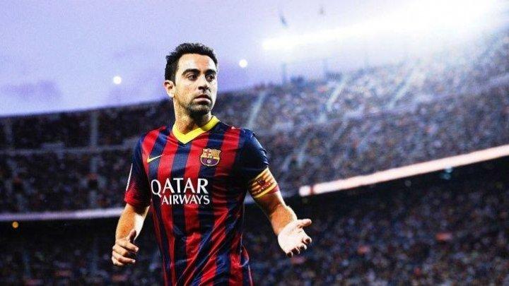 XAVI ÎŞI AGAŢĂ GHETELE ÎN CUI. Spaniolul a anunţat că îşi încheie cariera de jucător