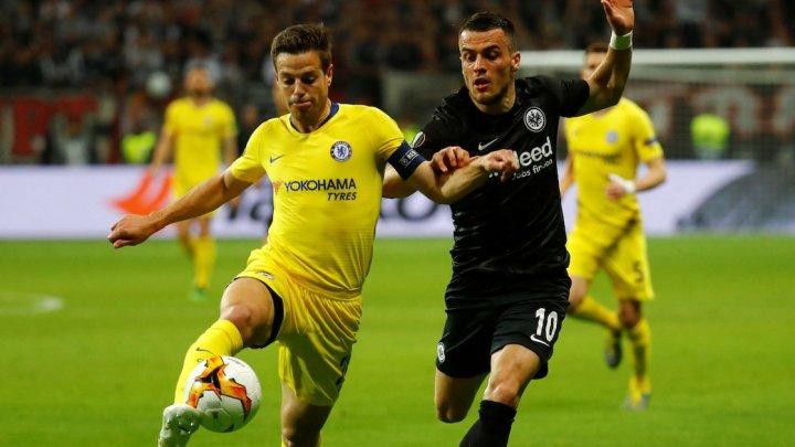 CALIFICAREA SE JOACĂ LA LONDRA. Eintracht a remizat cu Chelsea, scor 1-1