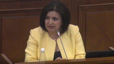 Monica Babuc despre iniţiativa ACUM-PSRM de a politiza funcţia secretarilor de stat: Văd setea de răzbunare (VIDEO)