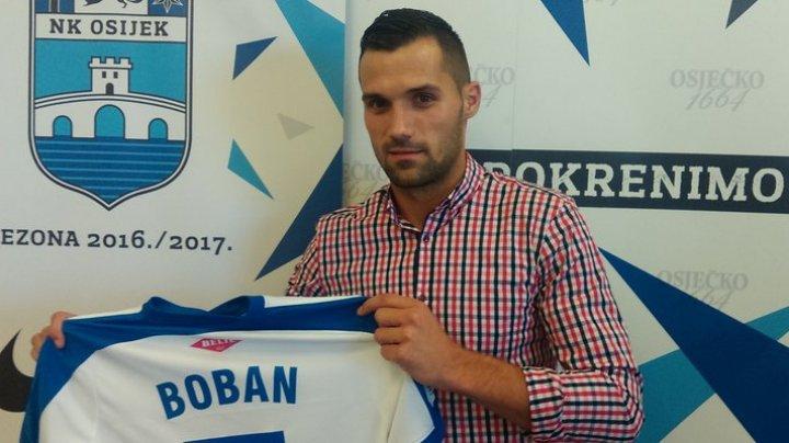 Sheriff Tiraspol a semnat un contract cu fotbalistul croat Gabrijel Boban