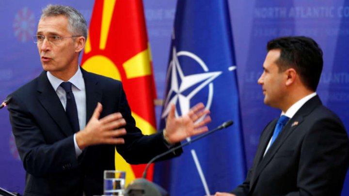 Secretarul general al NATO salută reformele realizate de Macedonia de Nord