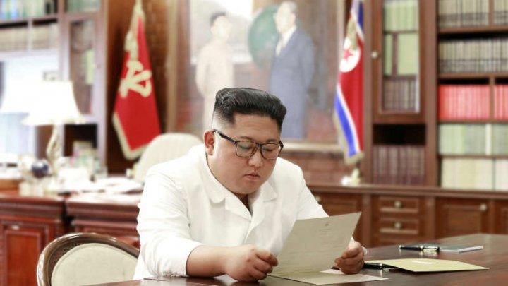 Kim Jong Un a primit o scrisoare din partea lui Donald Trump