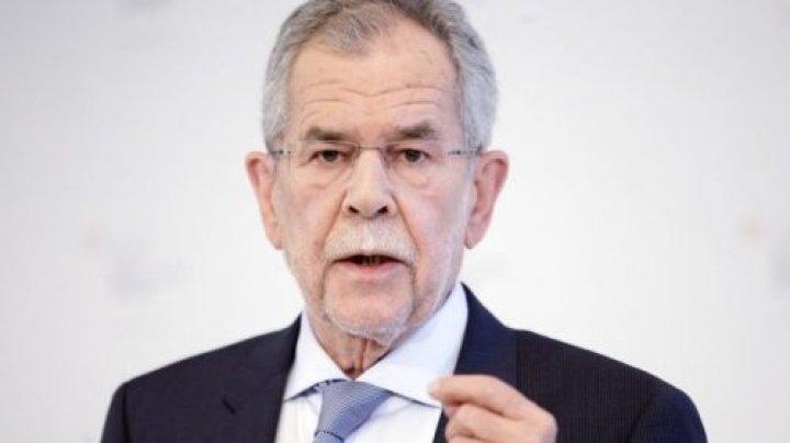 Preşedintele Austriei recomandă organizarea de alegeri anticipate la începutul lunii septembrie