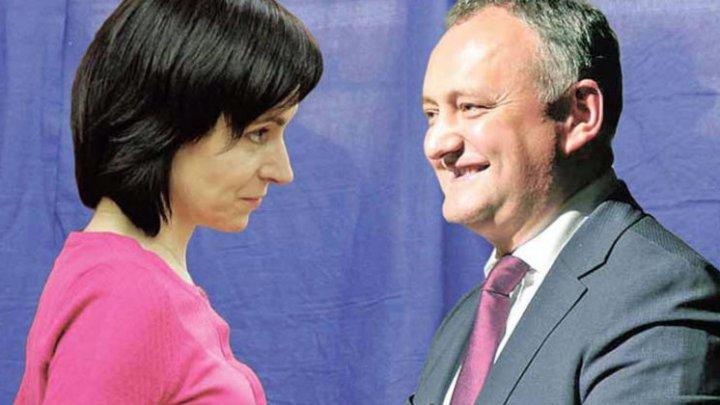 Igor Dodon: Maia Sandu a votat și a semnat pentru ca miliardul furat să fie pus pe spatele cetățenilor