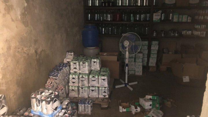 Mărfuri de circa 4 milioane de lei, depistate în cadrul unei operaţiuni a serviciului vamal (FOTO/VIDEO)