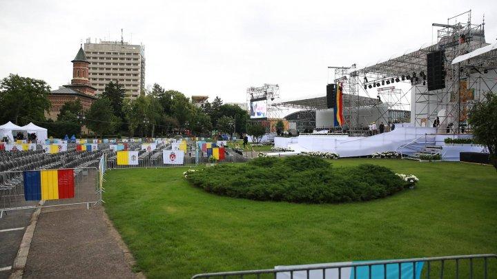 Ultimele pregătiri la Iași, acolo unde e așteptat Papa Francisc (FOTOREPORT)