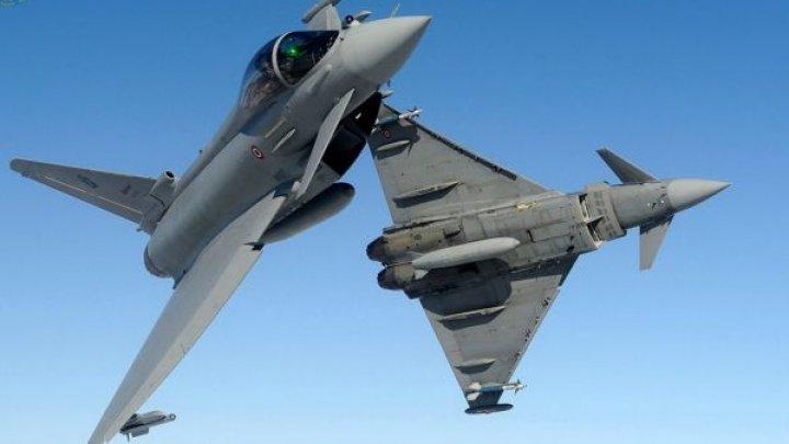 Coliziune între două avioane militare Eurofighter ale forţelor aeriene germane. Piloţii au supravieţuit