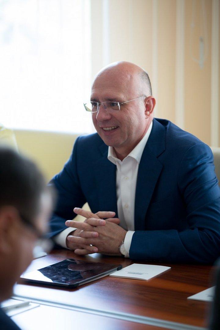 Pavel Filip la întrevederea cu delegația Parlamentului European: Susținem implementarea Acordului de Asociere