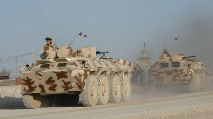 Unul dintre cei cinci militari răniţi recent în Afganistan, transportat în Germania