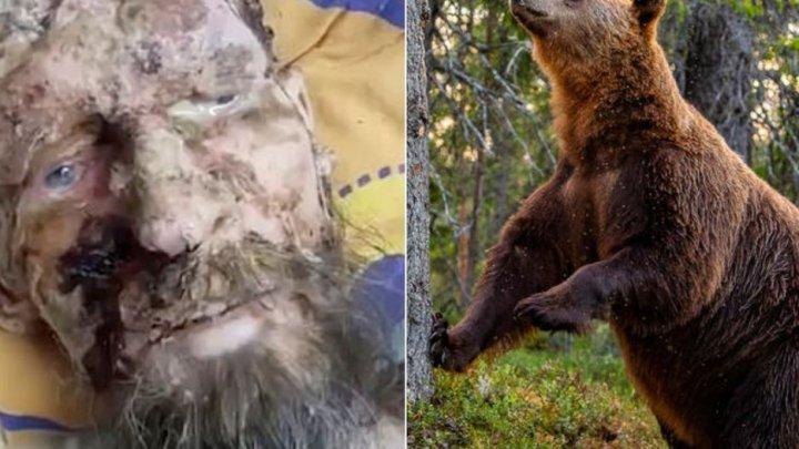 Povestea şocantă a unui bărbat care a fost salvat din bârlogul unui urs: Mi-am băut urina pentru a supravieţui
