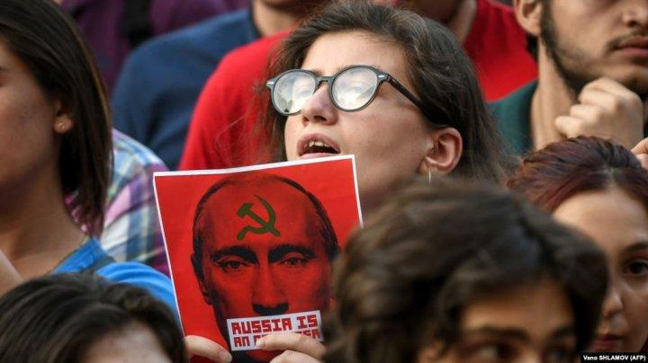 Protestele din Georgia continuă. Opoziția își extinde revendicările