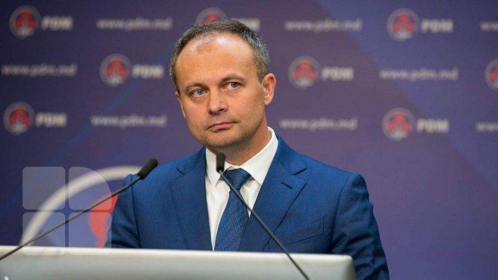 Andrian Candu: PDM va cere investigarea declarațiilor lui Igor Dodon prin care recunoaște că PSRM este finanțat din exterior