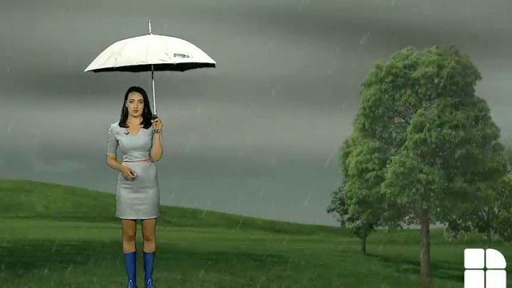 ATENȚIE. Cod Galben de ploi torenţiale, grindină şi vijelie pe întreg teritoriul țării (GRAFICĂ)
