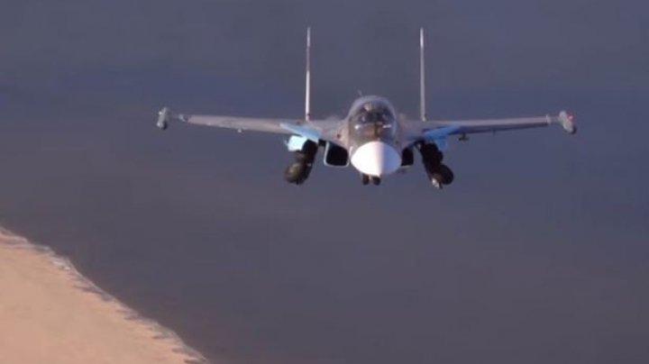 Avioane militare ruse au atacat poziţii islamiste din Siria