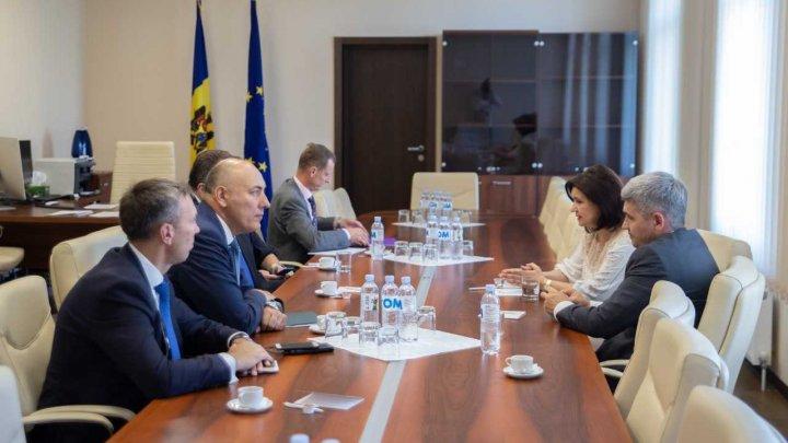 Vicepreședintele Parlamentului, Monica Babuc,  s-a întâlnit cu Ministrul Afacerilor Externe al Republicii Lituania, Linas Linkevicius