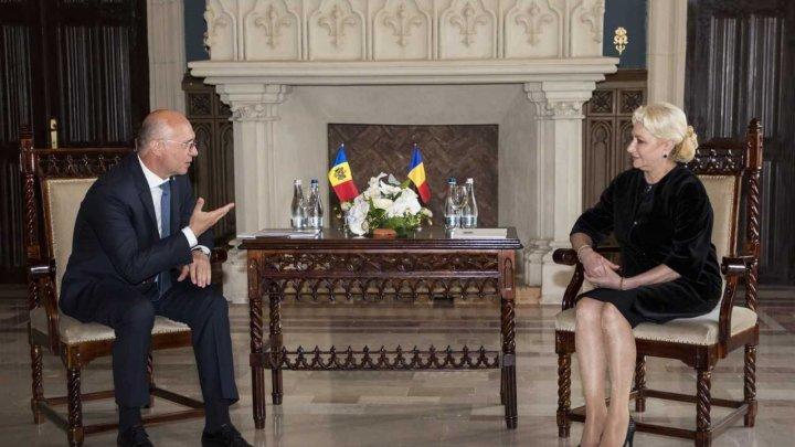Pavel Filip și Viorica Dăncilă, întrevedere la Iași: Dorim să păstrăm şi să intensificăm cooperarea bilaterală, în beneficiul cetățenilor (FOTO)
