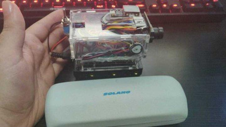 Incredibila invenţie a unui student la Cluj: Un dispozitiv pentru măsurători biometrice cu TRIPLĂ protecţie