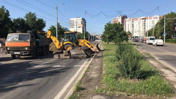 Va fi suspendat traficul rutier pe unele străzi din Capitală