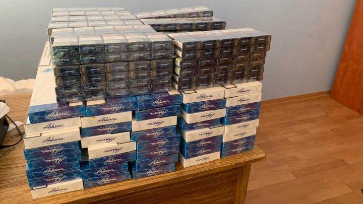 Aproape 40 de mii de ţigări au fost reţinute la hotarele ţării în acest week-end