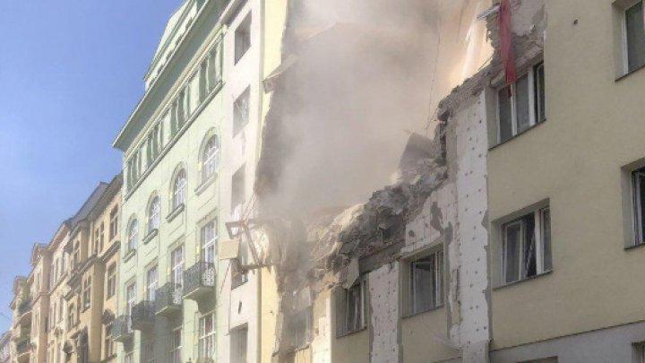EXPLOZIE în Viena. Un bloc s-a prăbuşit, iar mai mulţi oameni au fost răniţi (VIDEO)