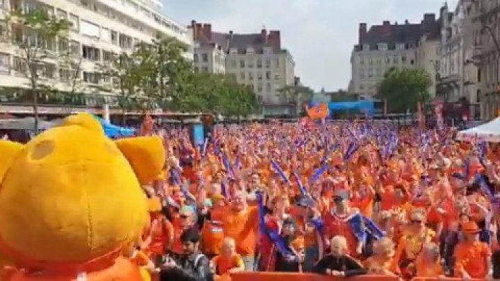 Imagini FABULOASE! Nebunie totală la Campionatul Mondial de Fotbal feminin (VIDEO)