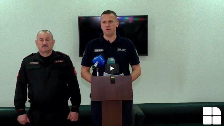 Poliția cheamă la calm și îndeamnă cetățenii să nu să se lase provocați (VIDEO)