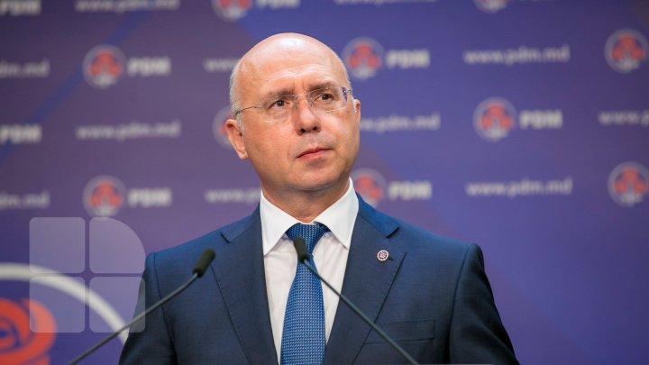 Pavel Filip îi răspunde Maiei Sandu: Membri de partid ați trimis la Curtea Constituțională, membri de partid au fost aleși în funcții