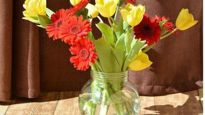 Pentru a creşte durata florilor ţinute în vază, trebuie să le îngrijeşti corect. Sfaturile specialiştilor