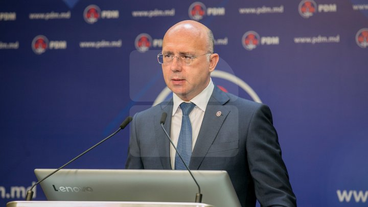 Președintele fracțiunii PDM, Pavel Filip, va susține un briefing de presă
