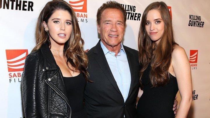 Una dintre fiicele actorului Arnold Schwarzenegger s-a căsătorit