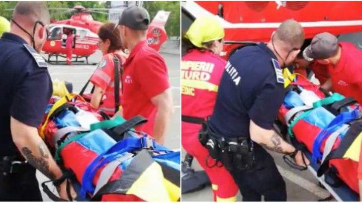ȘOCANT! Un copil a ajuns în comă după ce a găzut de la etajul cinci. Băiatul era acasă cu mama lui