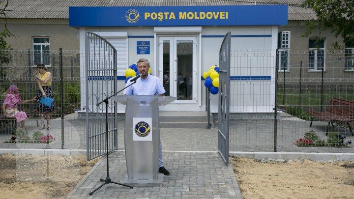 În satul Popeasca a fost inaugurat un nou sediu al oficiului poștal dotat cu echipament modern și de calitate (FOTO)