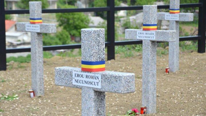 Marcarea Zilei Eroilor la Cimitirul de Onoare al Eroilor Români de la Țiganca