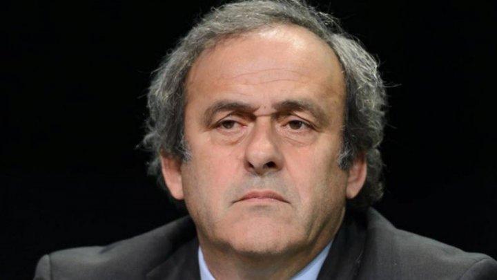 PLATINI A FOST ELIBERAT. Fostul preşedinte UEFA a fost audiat mai multe ore