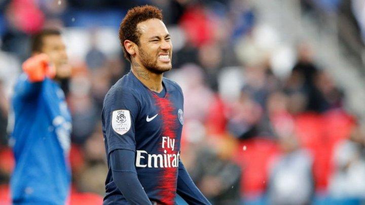 Neymar nu este în lotul lui PSG pentru meciul cu Rennes