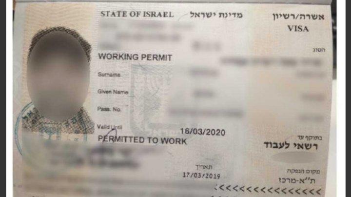 Vize falsificate, depistate în documentele a două moldovence deportate din Israel