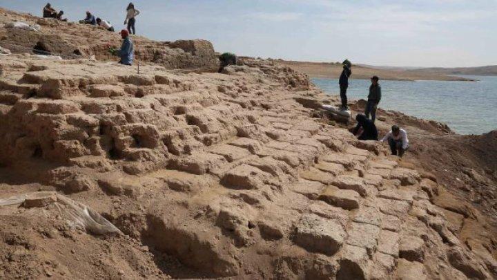 Un palat vechi de aproape 4 mii de ani a fost descoperit în Irak (FOTO, VIDEO)