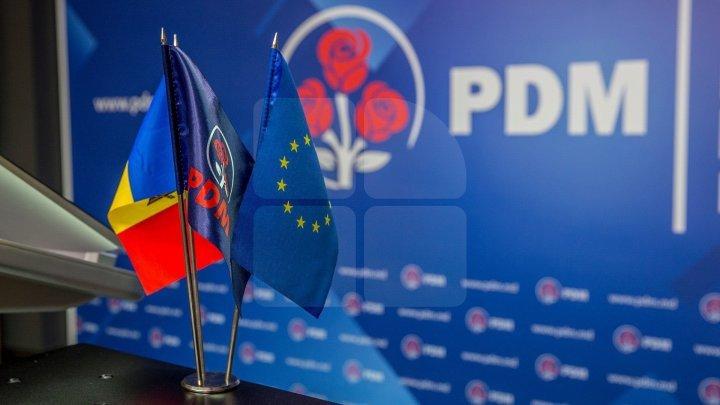 Consiliul Politic Național al PDM, în şedinţă. La ora 13:00, va avea loc un briefing de presă. Publika va transmite LIVE