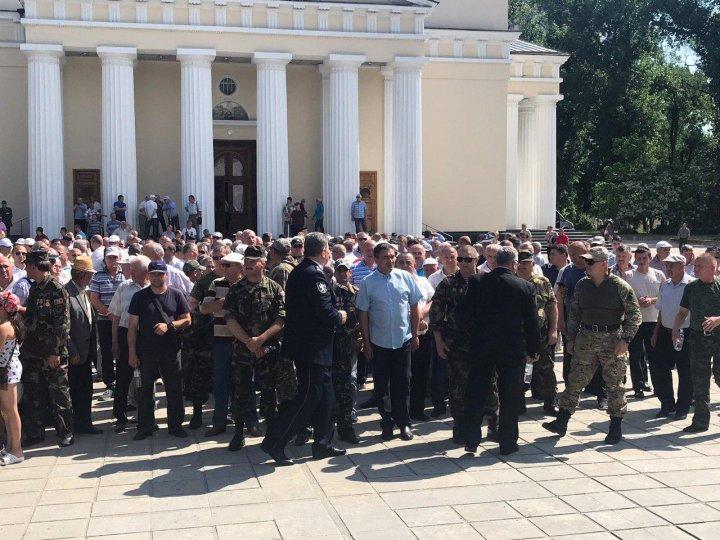 Veteranii condamnă trădarea lui Dodon, care a dorit să federalizeze Republica Moldova la indicația lui Kozak (VIDEO/FOTO)