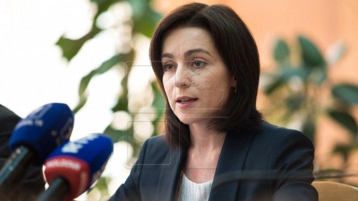 Premierul Maia Sandu a comentat eliberarea lui Renato Usatîi