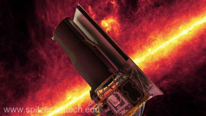 Telescopul spaţial Spitzer va fi scos din funcţiune de NASA în 2020