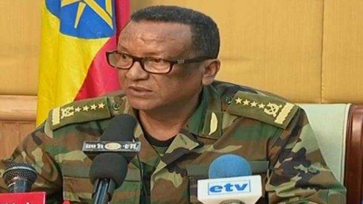 Şeful de stat-major al armatei etiopiene, rănit de gloanţe
