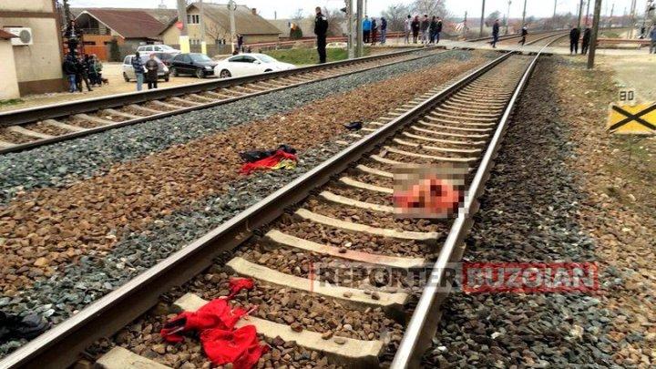 Accident cumplit. O femeie a murit pe loc, după ce a fost călcată de tren