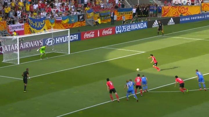 Ucraina a câştigat Campionatul Mondial de fotbal rezervat jucătorilor
