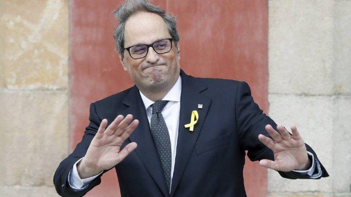 Preşedintele regiunii spaniole Catalonia va fi judecat pentru nesupunere