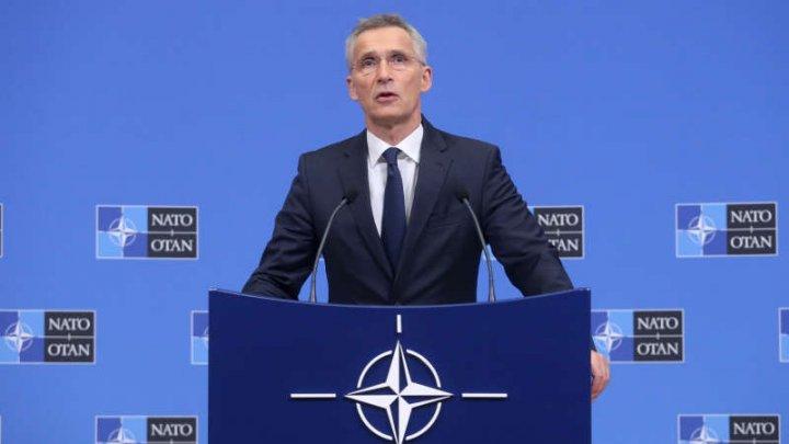 Jens Stoltenberg: Nu a fost solicitată o misiune NATO în Strâmtoarea Ormuz