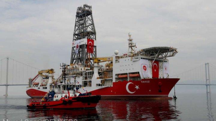 UE pregăteşte sancţiuni împotriva Turciei, ca reacţie la forajele maritime din jurul Ciprului