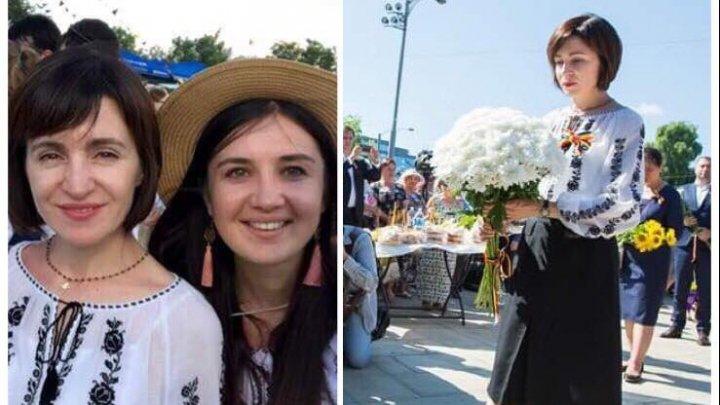ACEEAȘI IE pentru comemorare și distracție. Maia Sandu, luată la rost de internauți pentru că a mers la festival, în zi de DOLIU NAȚIONAL